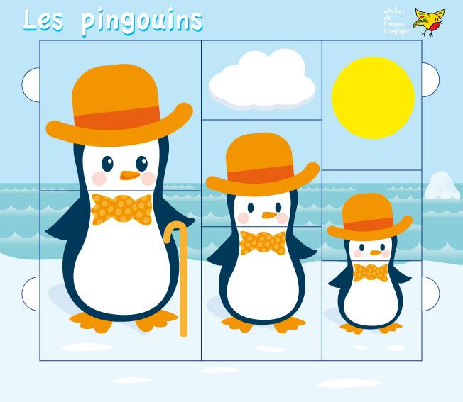 Pingouins puzzle 4