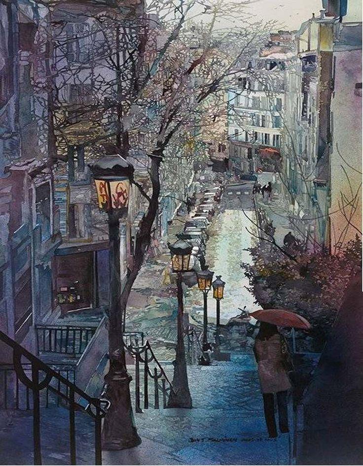 levkonoe | John Salminen. Watercolor