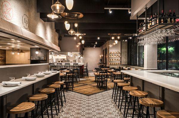 All Purpose Pizzeria Big Design Small Space Restaurant