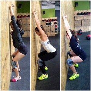 Benefits of the Wall Squat – CrossFit 915 – Michelle Delisio