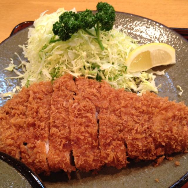 Tonkatsu at Bairin Ginza.