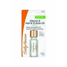 Sally Hansen*VITAMIN E NAIL & CUTICLE OIL Helps Strengthen & Nourish #2120
