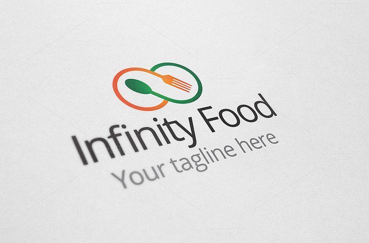 Infinity Food Logo by Arslan on Creative Market
