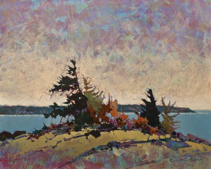 "Gulf Offskip, by Robert Genn 24 x 30"""