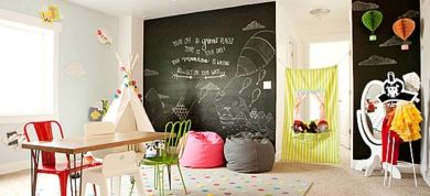 Playground at home!!!! What an excellent idea!                                             by eleanna kapokaki.interior architect.