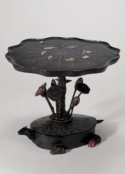 [Joseon Dynasty, 18th Century] Pedestal Tray-Table