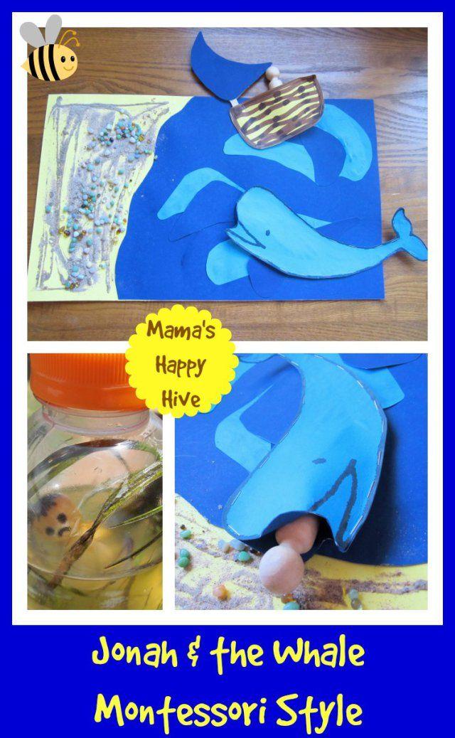 Jonah & the Whale:  Montessori Style www.mamashappyhive.com