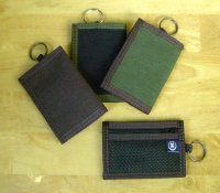 Handy little Vegan Hemp Key Ring Wallet for those on the go!