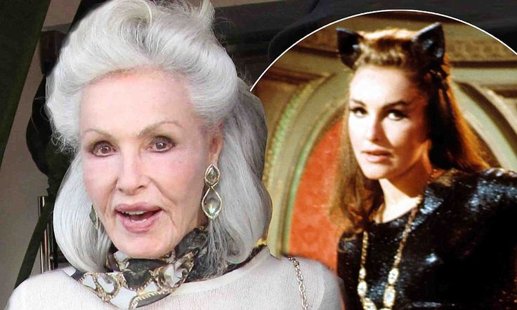 She's still a glamourpuss! Original Catwoman Julie Newmar looks incredible at 80 as she prowls around Los Angeles