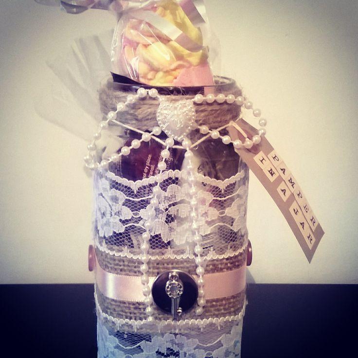 Pamper in a jar #special #gift #handmade #moonback #somethingspecial