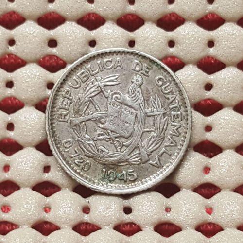 Guatemala 1945 Silver 5 Centavos Coin 4@r - http://coins.goshoppins.com/world-coins/guatemala-1945-silver-5-centavos-coin-4r/