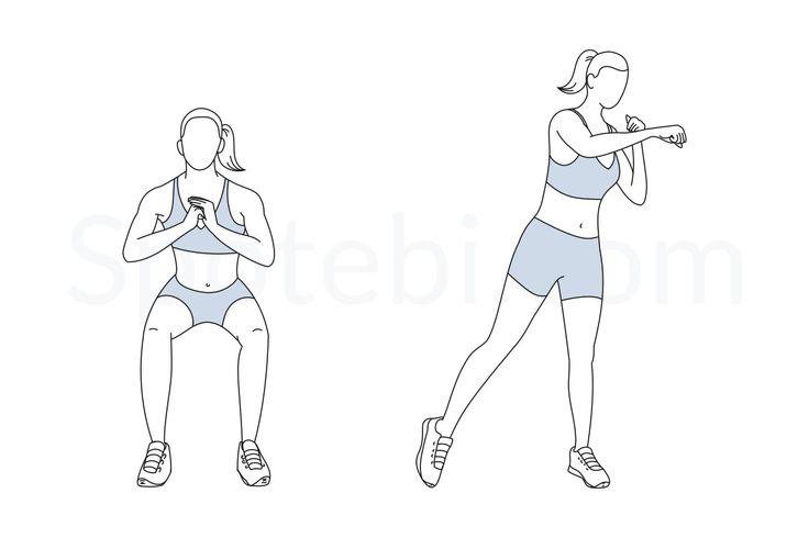 Boxer Squat Punch   Workout guide, Exercise, Squats