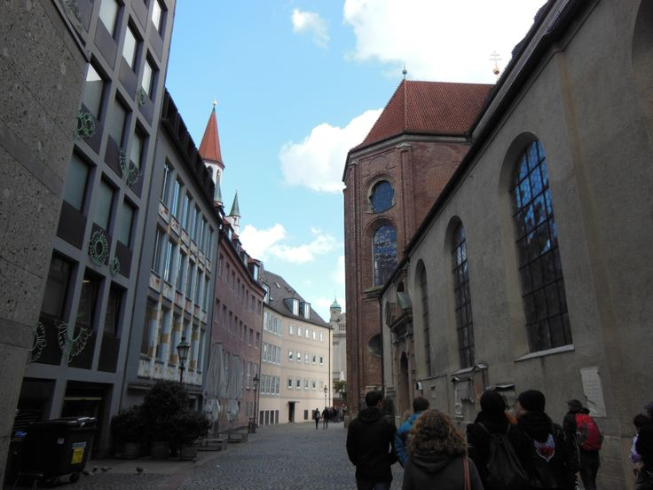 On the left side, you can see part of St. Peter's Church. St. Peter's church is the oldest church in Munich. This church was built in the 8th century, long before Munich was founded as …