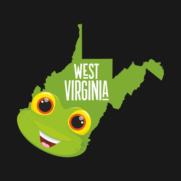 A funny map of West Virginia.