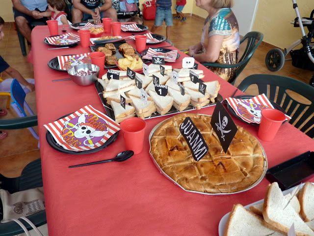 17 mejores ideas sobre comidas de fiesta pirata en - Comida cumpleanos infantiles ...