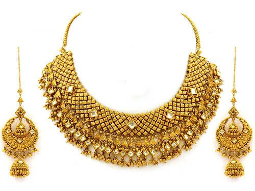Indian Gold Jewelery set