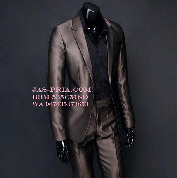 jas pengantin 2016 warna coklat tua bahan klimis mengkilap semakin membuat tampilanmu mempesona saat menikah harganya murah kualitas terjamin pasti bermutu