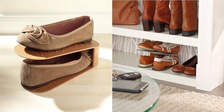17 best ideas about astuce rangement chaussures on - Rangement chaussures amazon ...