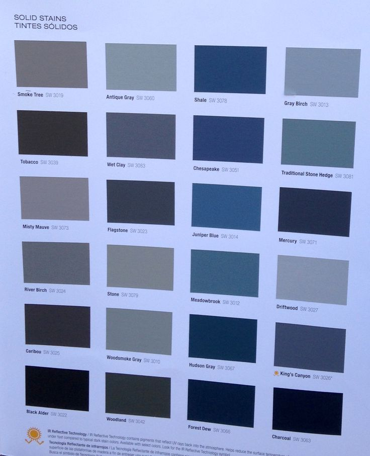 Sherwin Williams Solid Stains For Deck Amp Fence Sherwin