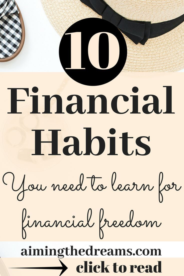 11 financial habits for increasing your wealth   Finance Balance