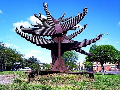 Paseo de las Esculturas - Bahía Blanca - Argentina