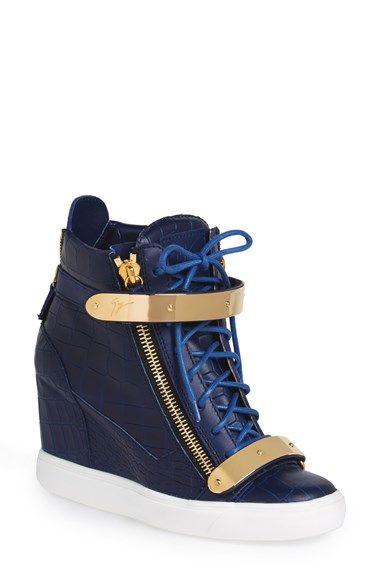 Giuseppe Zanotti 'London' High Top Sneaker (Women) available at #Nordstrom Si tuviera 10 anos menos!