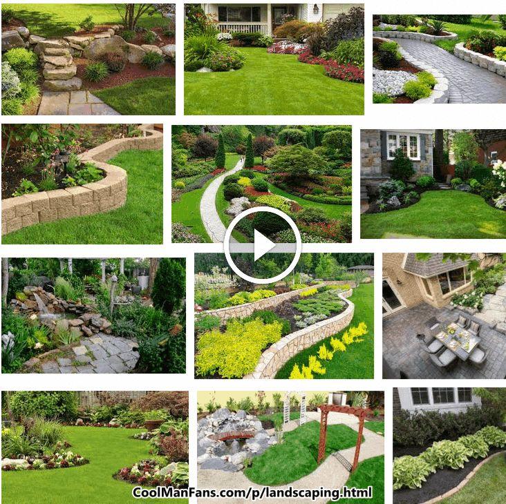 Tags Landscaping Backyard Front Hillside Ideas Low Maintenance