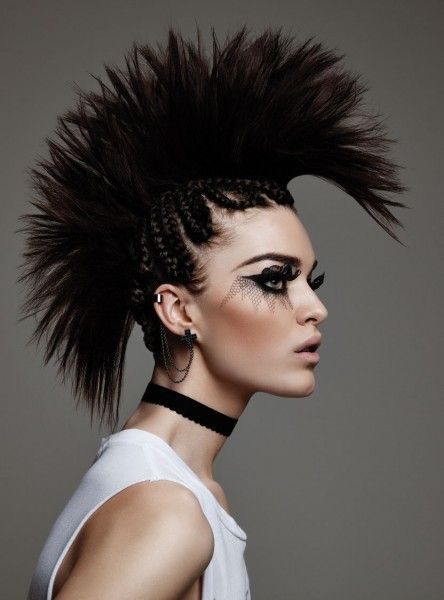 59 Best Punk L Mohawks L Mullets Images On Pinterest