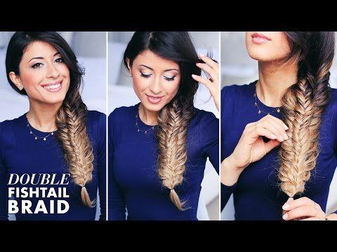 Double Fishtail Braid Tutorial - YouTube