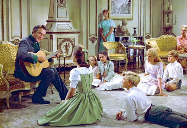"""The last scene the actors shot—when the children are singing """"The Sound of Music"""" for the   baroness—was one of the most emotional. """"We knew that, when they said cut, the movie was   over for us,"""""""