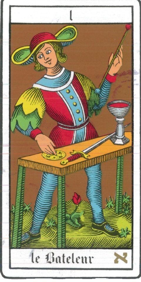 Significado da carta O mago no #tarot