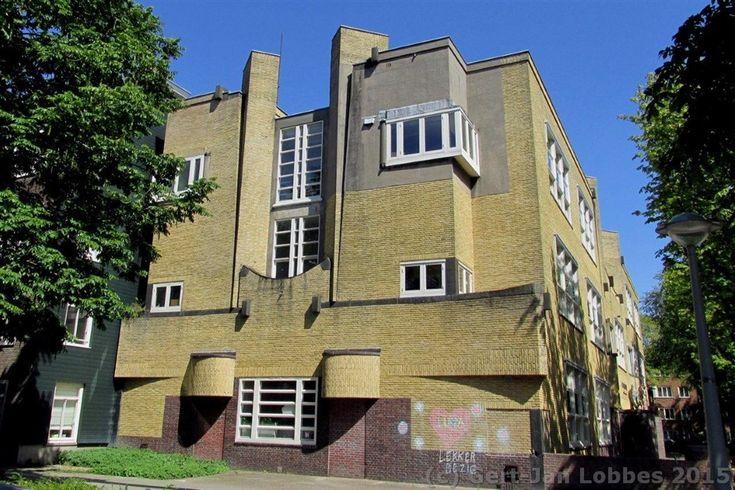 Dienst Publieke Werken, dubbele lagere school, Corantijnstraat, Amsterdam…