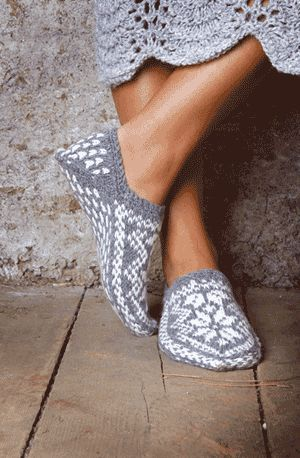 Navia Slippers. Who will knit these for me. I'll pay handsomely. -April