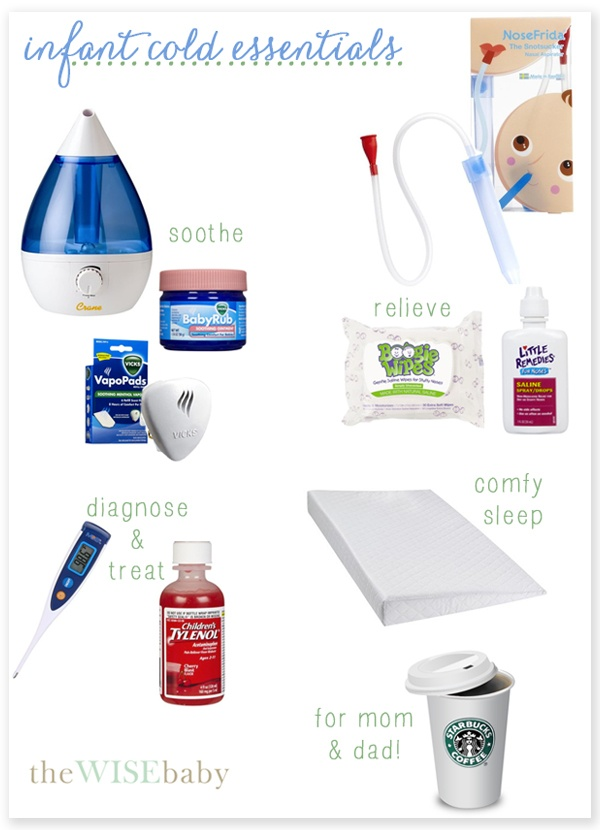 Our tips for surviving the not-so-fun infant cold!