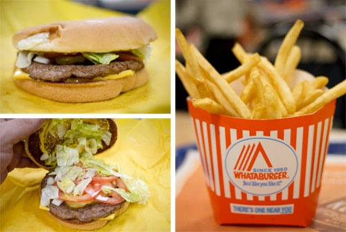 I have a sudden desire for Whataburger.