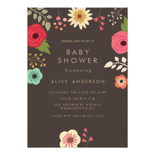 28 best images about baby shower invitations on pinterest, Baby shower invitations