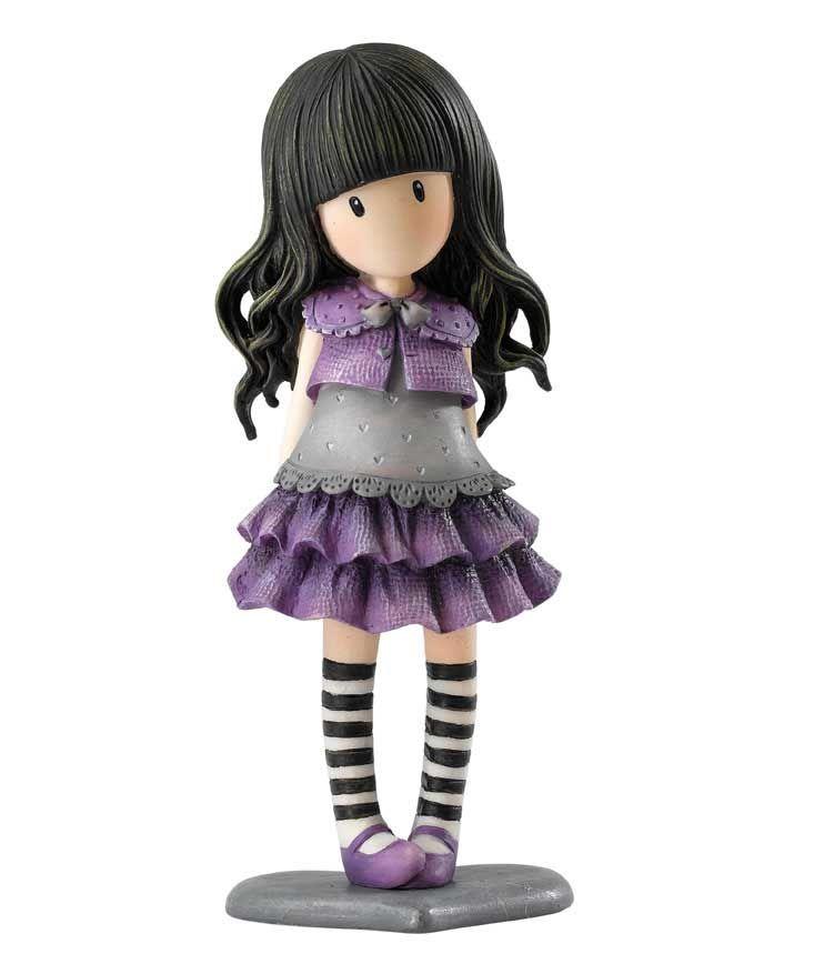 #Figuras #Gorjuss.  Little Violet. https://www.tiendagorjuss.com/