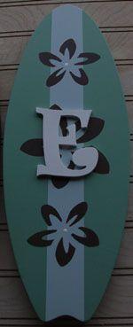 Cute Surf Board Idea for Lilo and Stitch Baby Room!
