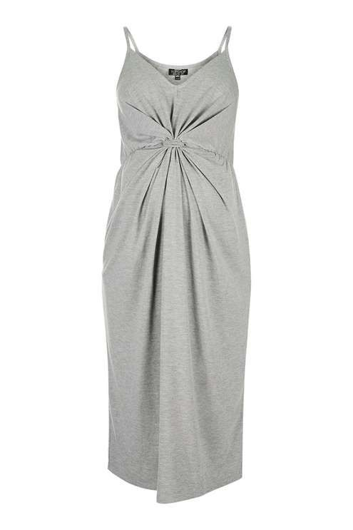 MATERNITY Knot Front Dress - Maternity - Clothing