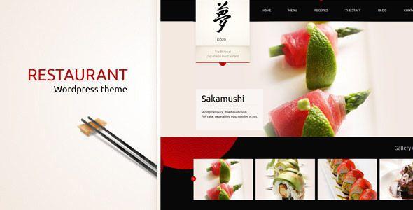 Taste of Japan - Restaurant / Food Wordpress Them - Food Retail