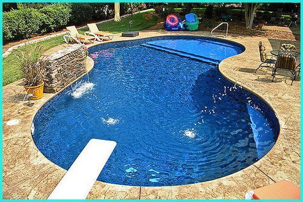 Inground Pool Kits With Tanning Ledges Small Pool Design Tanning Ledge Pool Pool Designs