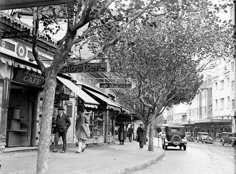 Kings Cross. date ? Lake 1920's.Sydney,