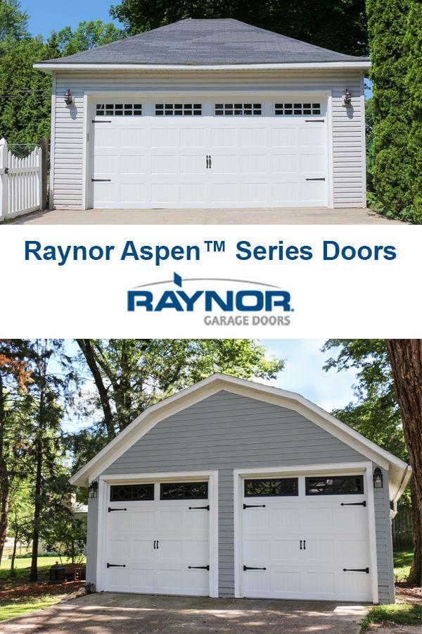 Raynor Aspen Series Garage Doors, Raynor Garage Door Dealers