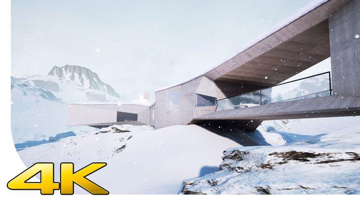 [4K] Unreal Engine 4 - ! STUNNING GRAPHICS ! - Winter Chalet - MRGV   [U...