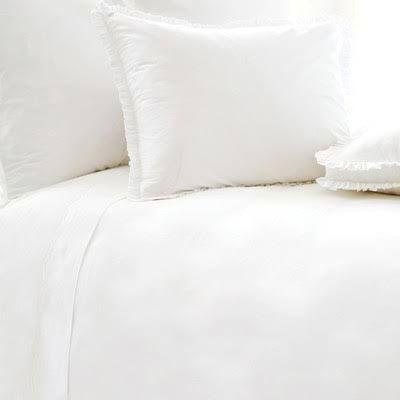Classic Ruffle White Duvet Cover - King 102 x 90