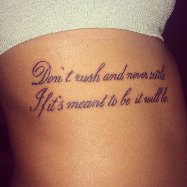Best 25 Quote Tattoo Placements Ideas On Pinterest: Best 25+ Rib Tattoo Script Ideas On Pinterest