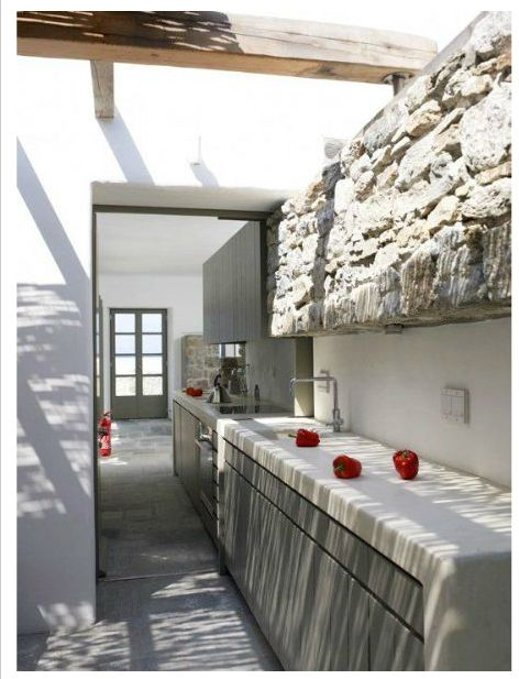 inside + outside / kitchen + laundry