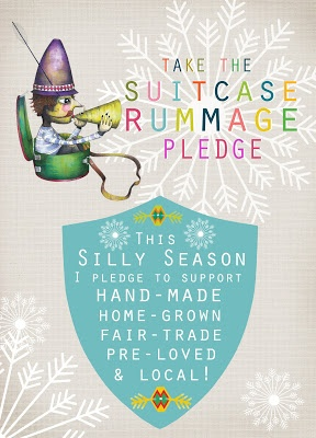 Suitcase Rummage - Our Pledge!