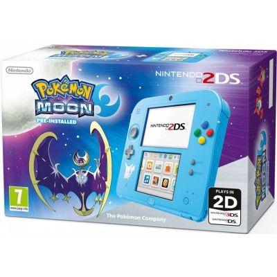Nintendo 2DS Pokémon Edition + Pokémon Moon 3DS