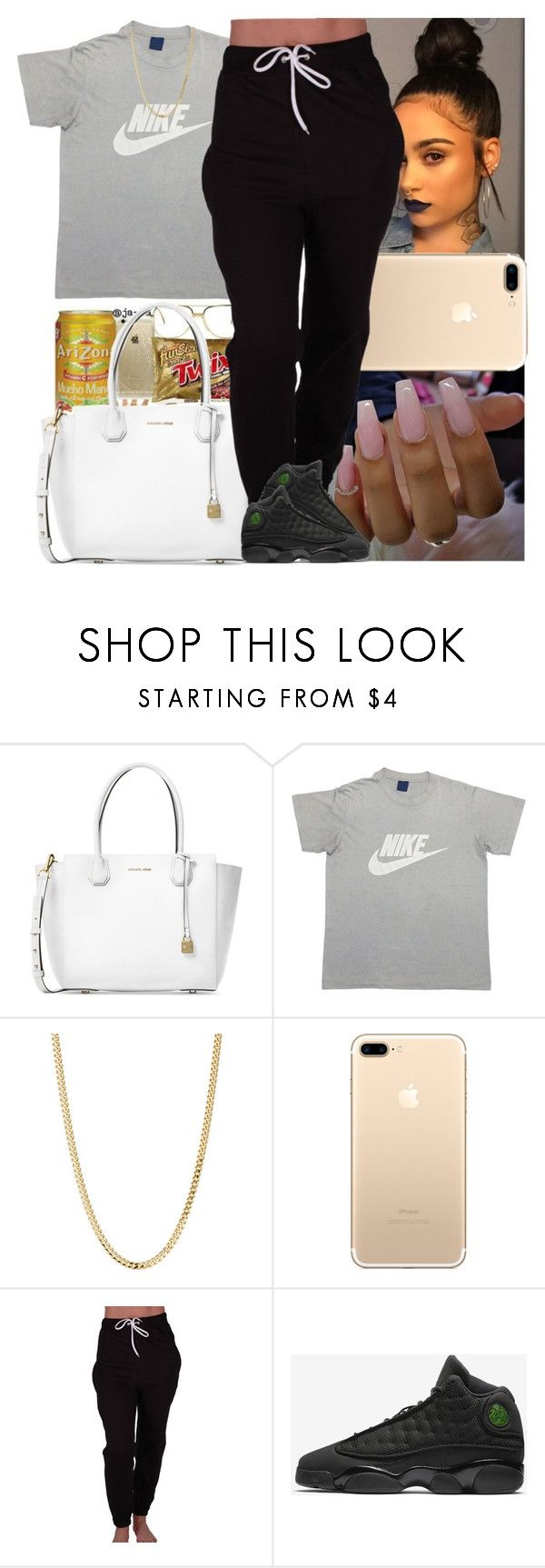 """""""Untitled #793"""" by msixo ❤ liked on Polyvore featuring Michael Kors, NIKE and Bianca Pratt"""